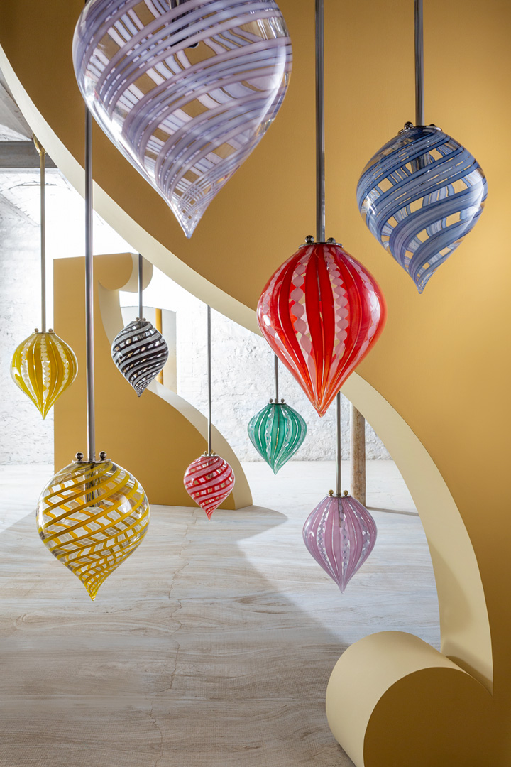 Pendant Balloon Canne